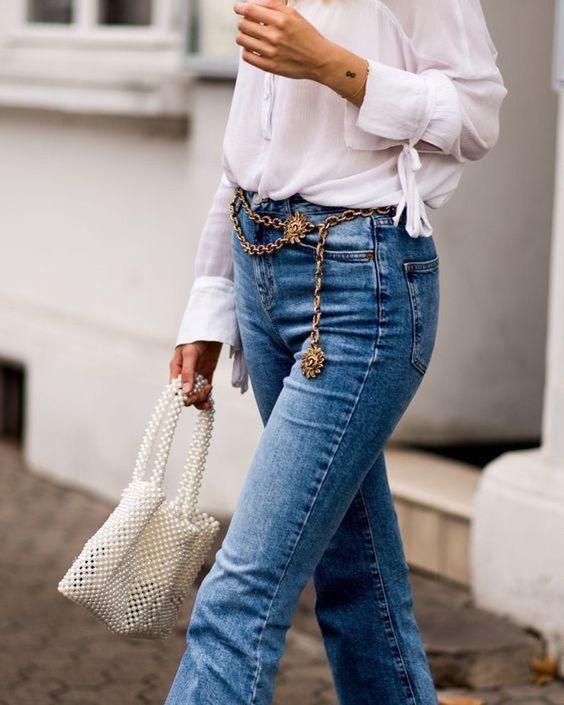 El Accesorio Que Las Chicas Fashion Están Agregando En Sus Jeans Y Pantalones – Cut & Paste – Blog de Moda
