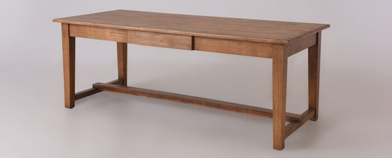 Nolan Dining Table | Tapered Leg Dining Table | Sixpenny.com