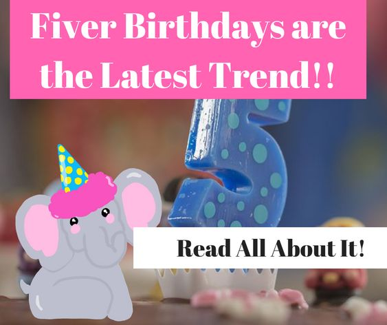 Fiver Birthday Party Trend for Kids