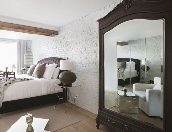 How to Avoid the Bad Bedroom Feng Shui of a Mirror Facing the Bed