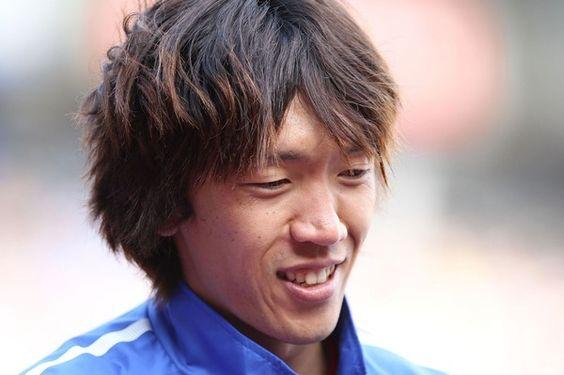 笑顔のかっこいい中村俊輔