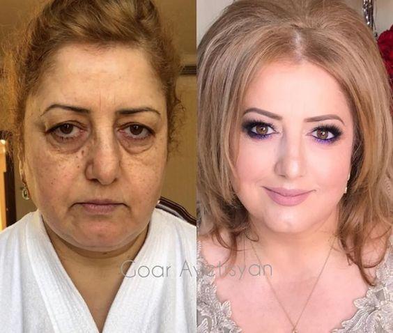 20 mulheres produzidas pela melhor maquiadora do mundo