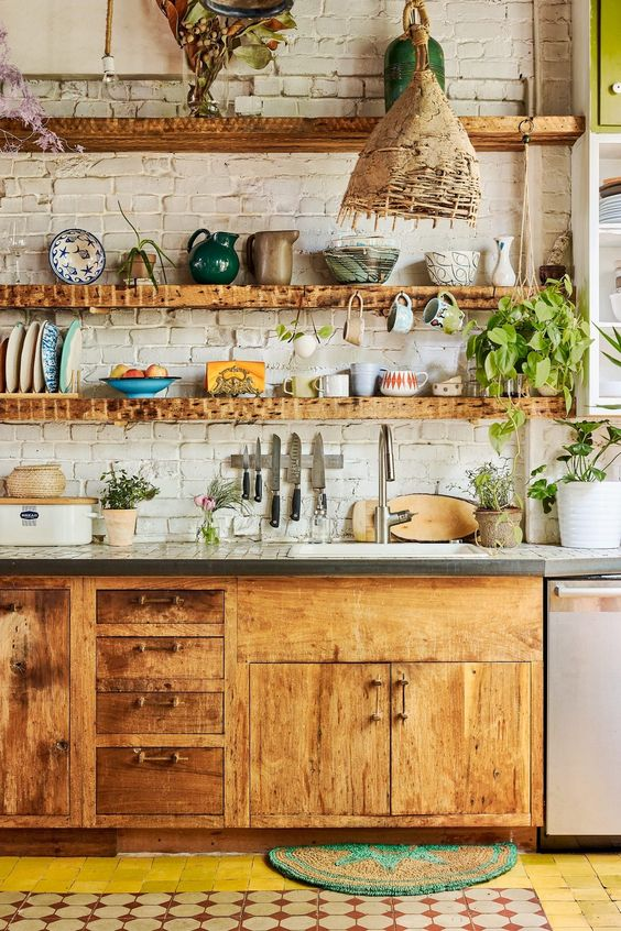 29 Design Ideas for Boho Style Kitchens If you want to adopt the Bohemian style for your kitchen, then you ought to know the style is as diverse as the man or woman who creates it. The organic surroundings may be used to create a minimalist terrace and make the majority of the charming view of the s