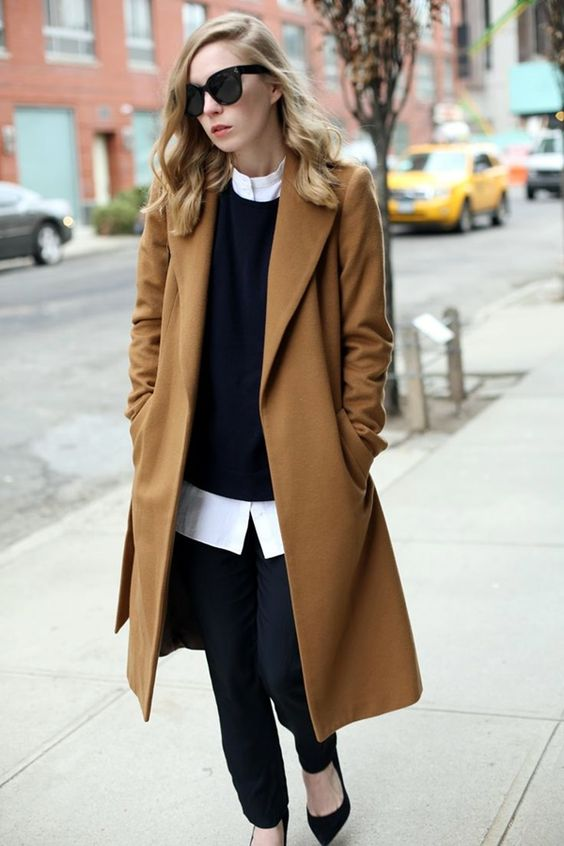 45 Stylish Camel Coat Outfit Ideas to Copy Right Now