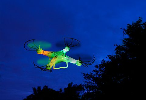 Drone Camera with LED Lights