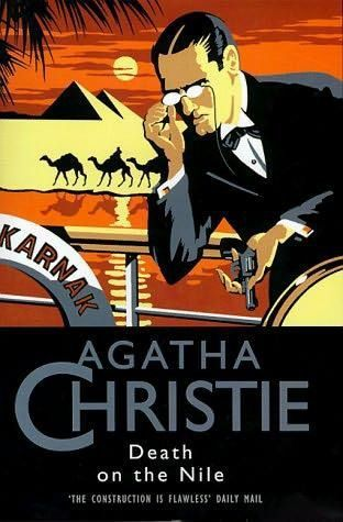 Image result for agatha christie book covers death on the nile
