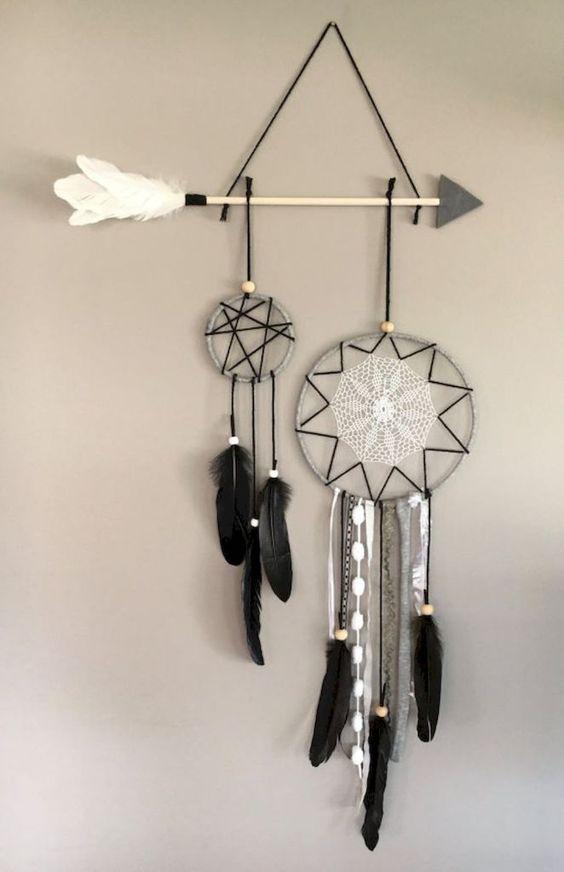Belle idee per la decorazione della parete fai-da-te per la tua stanza 41