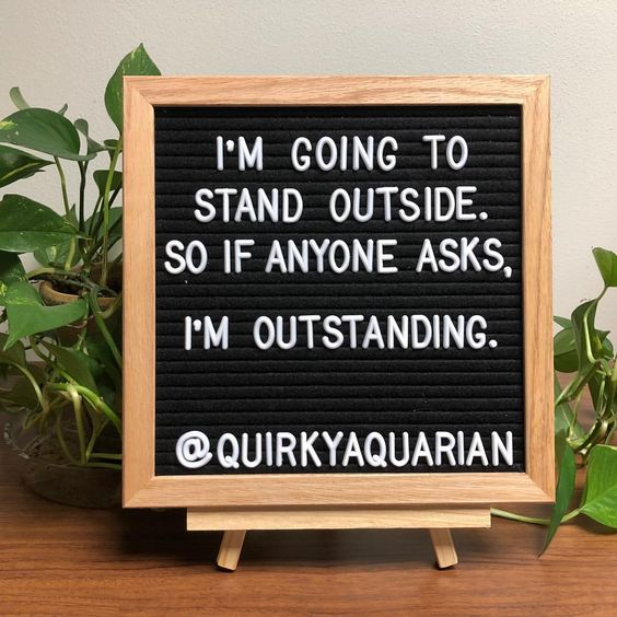 That's right, I'm outstanding! ☕️