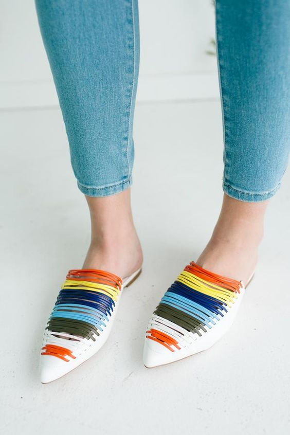 Brilliant Flat Shoes Outfits