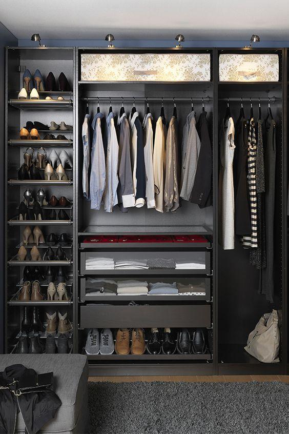 standard closet size