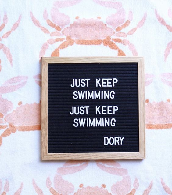 Didn't quote, letter board #letterboard