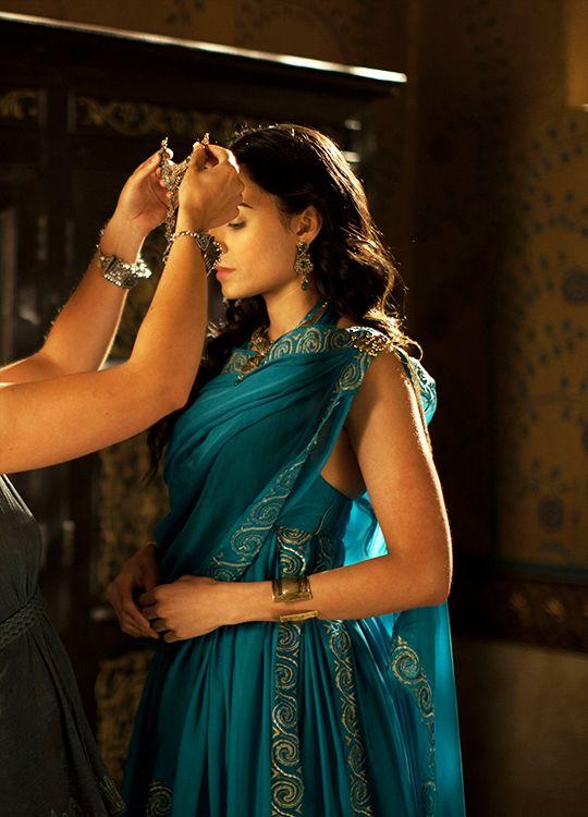 Aiysha Hart in 'Atlantis' (2013). x