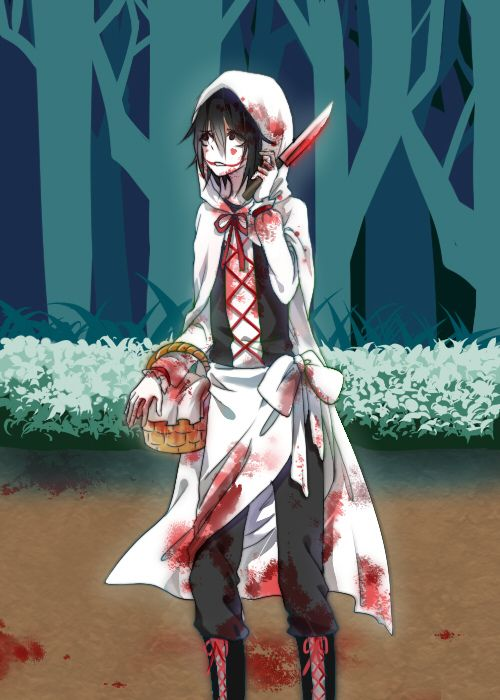 Wait. If Jeff's Red riding hood, is slender man the granny, and masky is the wolf or something