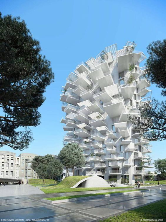 Arbre Blanc – Montpellier, France architecture 4 architecture Leaders That Will Change the World fc563650aa9d4120e3f1f52e4cb05863