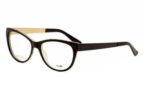 f55a2e8a6 Gucci Eyeglasses GG3742 GG/3742 2EN Black/Floral Full Rim Optical Frame 53mm