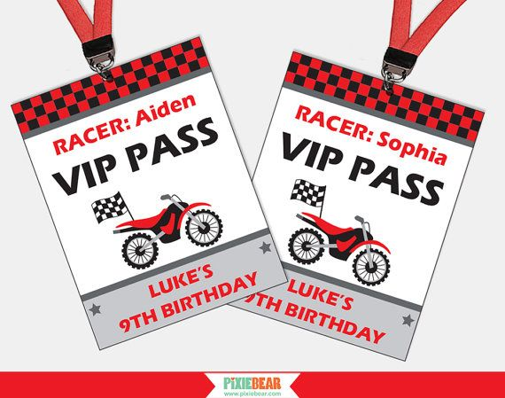 Dirt Bike Party VIP Passes