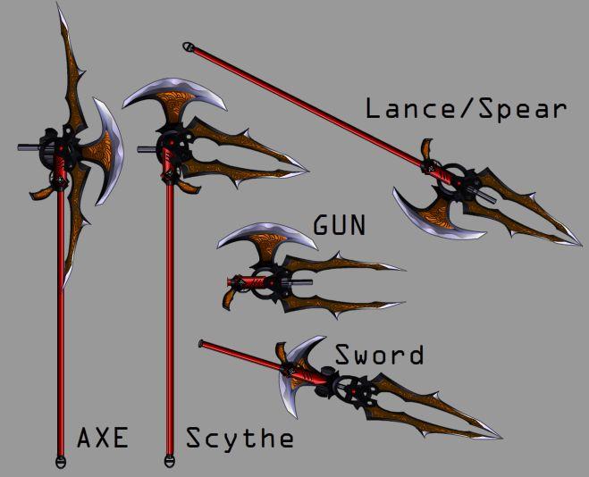 Switch Blade by Kurometsu