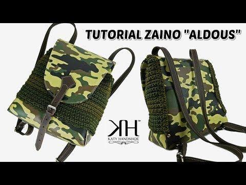 Tutorial Borse Uncinetto Zaino Aldous Crochet Uomodonn