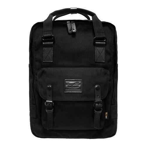 5c544b660 Doughnut Waterproof Plus Macarons Backpack - Classic Black - ibaobao
