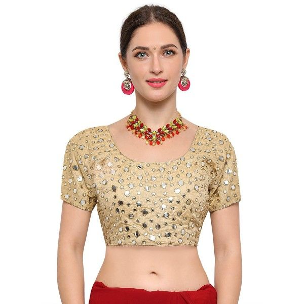 d6dabb5c6899a0 Silk Latest Embroidered Designer Blouse
