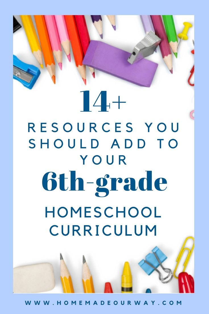14+ Awesome Resources You Should Add to Your 6th Grade Home