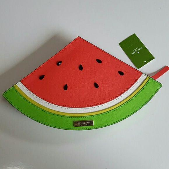 2760d470b Selling this Kate Spade Slice of Watermelon Clutch in my Poshmark closet! My  username is: icecreamsoda19. #shopmycloset #poshmark #fashion #shopping # style ...