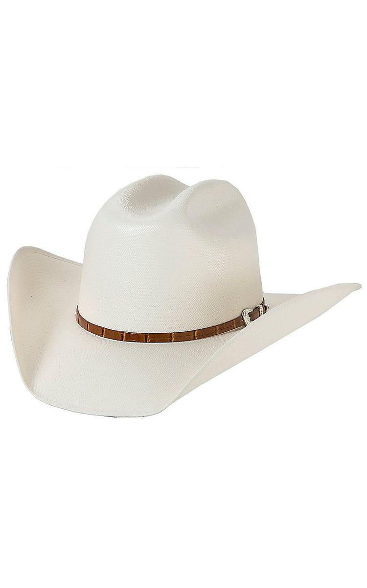 13910307b790e Stetson Stallion 100X Maximo Straw Cowboy Hat