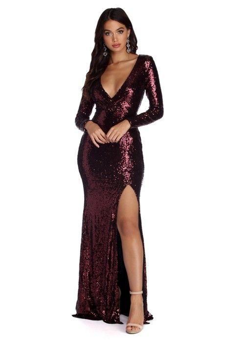 5fc512f453a Braelynn Formal Sequin Mermaid Dress