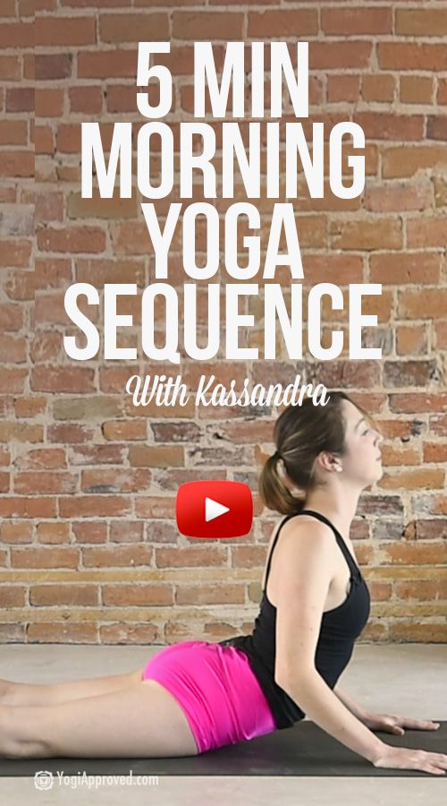 5 Minute Morning Yoga Flow for Stretching and Strengthening