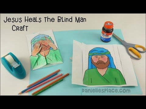 Jesus Heals The Blind Man I Like The Idea Of Acting This